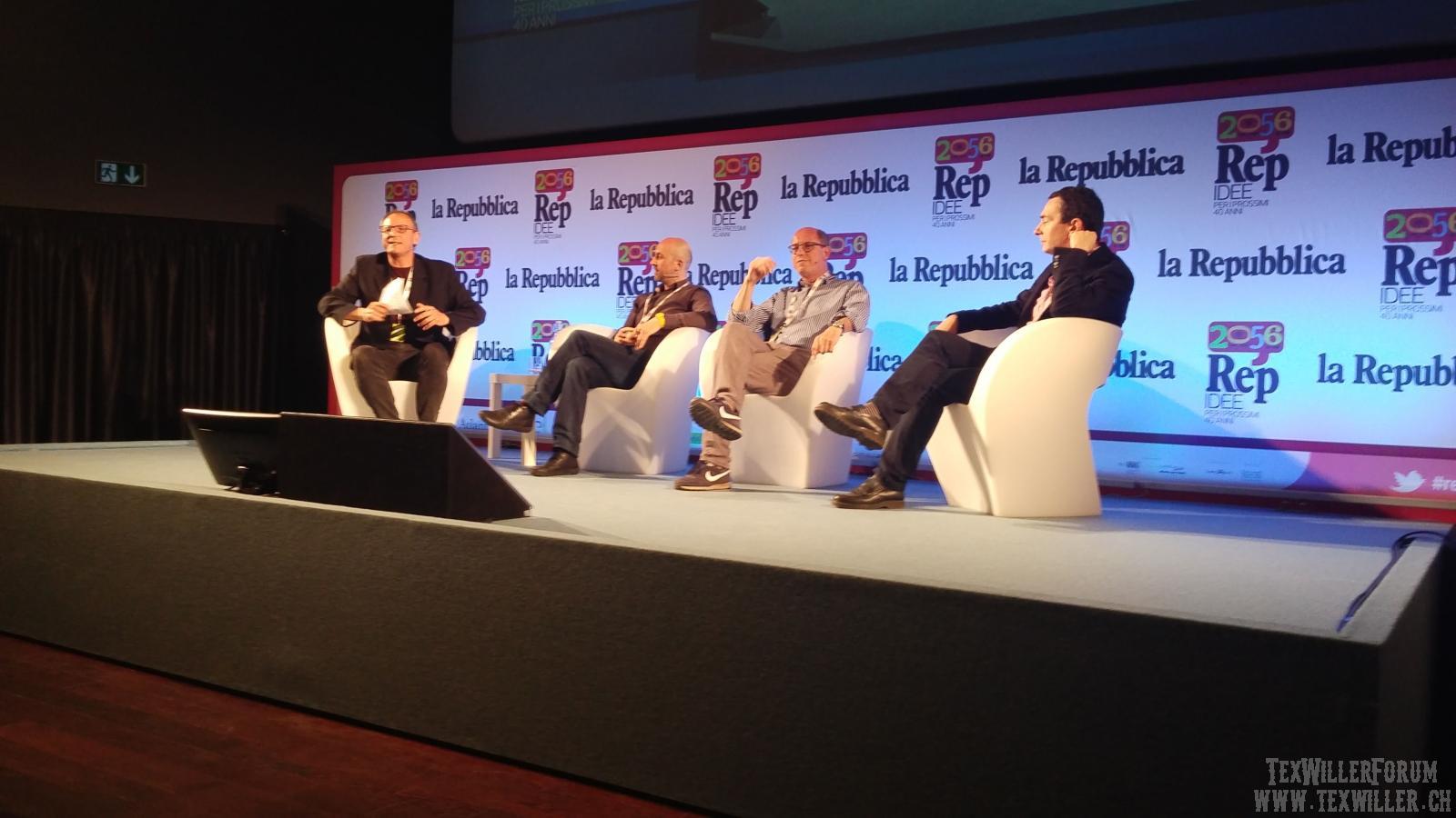 """Boselli/Masiero/Bilotta a """"La repubblica delle idee"""""""